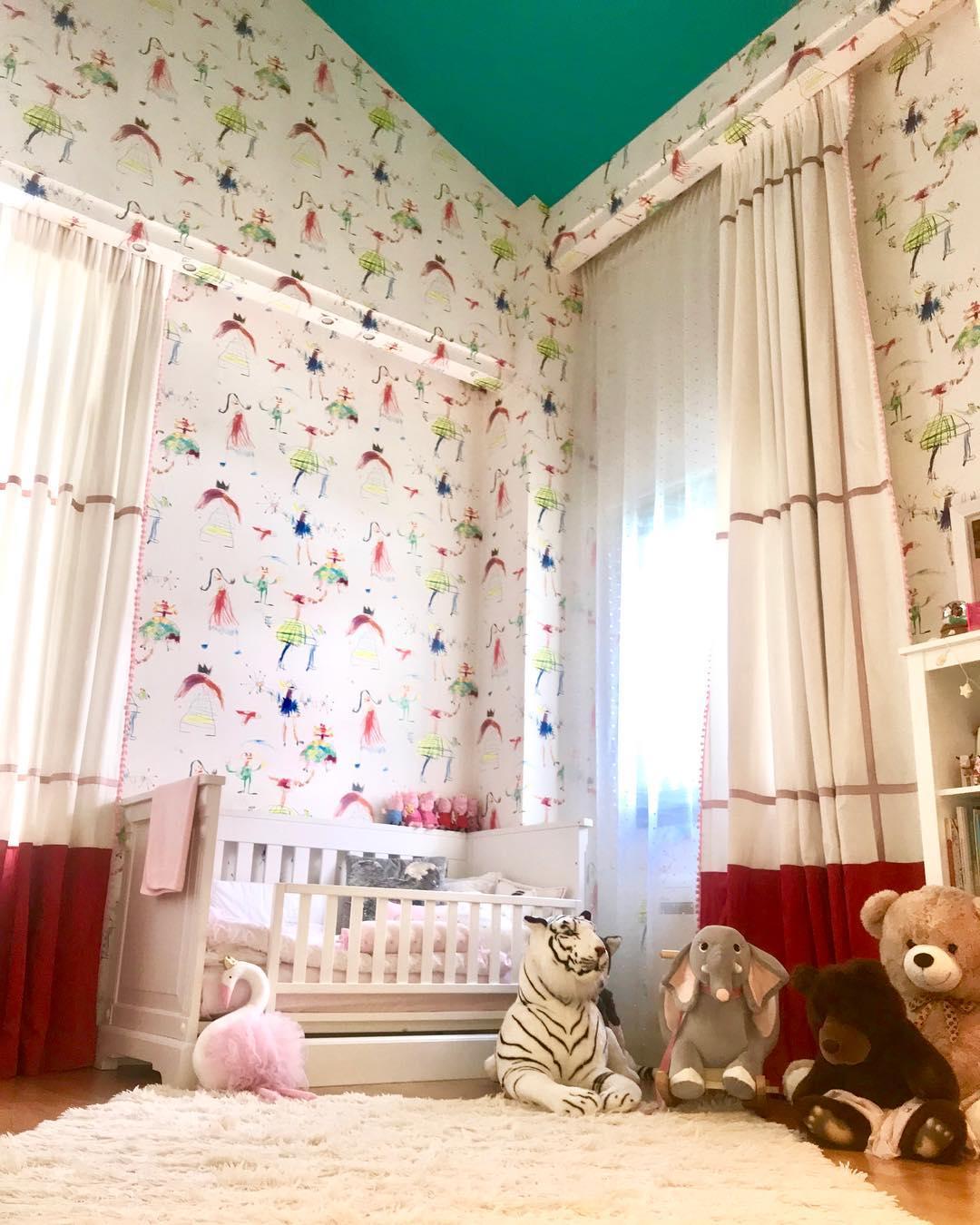 Το παιδικό δωμάτιο της κόρης της Σίσσυς Φειδά
