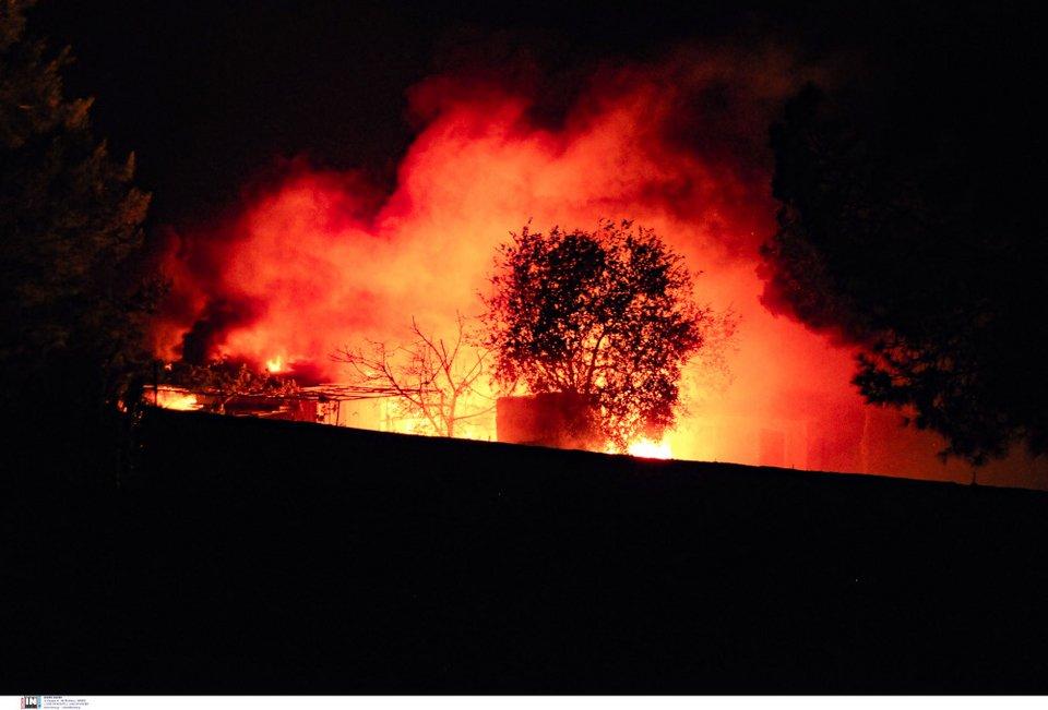 Μαίνεται η φωτιά στον Σχίνο Κορινθίας, κινείται προς Αλεποχώρι -Εκκενώθηκαν  οικισμοί, μοναστήρια | ΕΛΛΑΔΑ | iefimerida.gr