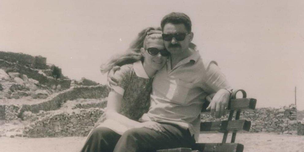 Μαριάννα Β. Βαρδινογιάννη: Το άγνωστο ταξίδι στην Αμοργό για να συναντήσει  τον εξόριστο σύζυγό της στη δικτατορία [εικόνα]   ΕΛΛΑΔΑ   iefimerida.gr