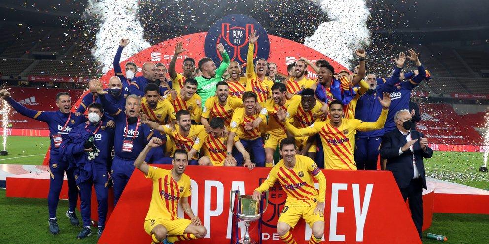 Η Μπαρτσελόνα επέστρεψε στους τίτλους -Ηταν ξανά φόβητρο, κέρδισε 4-0 την Μπιλμπάο και κατέκτησε το Κύπελλο Ισπανίας [βίντεο]