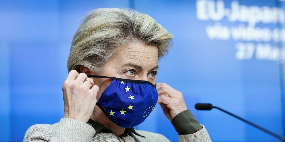 Ούρσουλα φον ντερ Λάιεν: Το πρόγραμμα εμβολιασμού της Ελλάδας αποτελεί αντικείμενο «φθόνου» για πολλές χώρες | ΚΟΣΜΟΣ