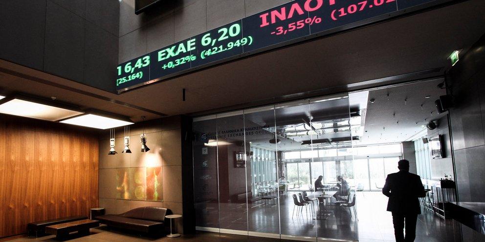 Χρηματιστήριο: Κλείσιμο με πτώση 1,11%, στα 87,71 εκατ. ευρώ ο τζίρος