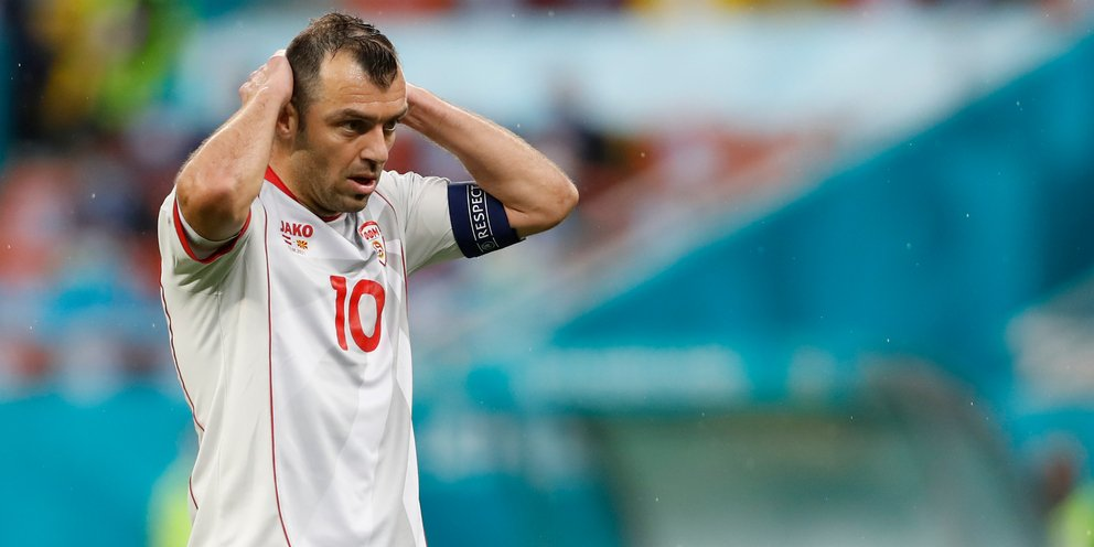 EURO 2021: Ρίχνει τίτλους τέλους ο Πάντεφ στην εθνική Βόρειας Μακεδονίας
