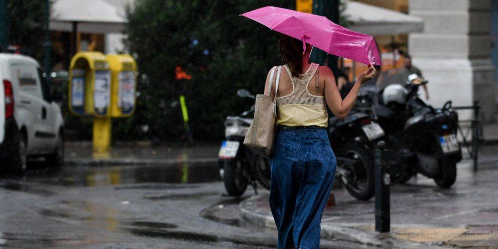 Αστατος ο καιρός σήμερα -Πού αναμένονται βροχές και καταιγίδες   ΕΛΛΑΔΑ