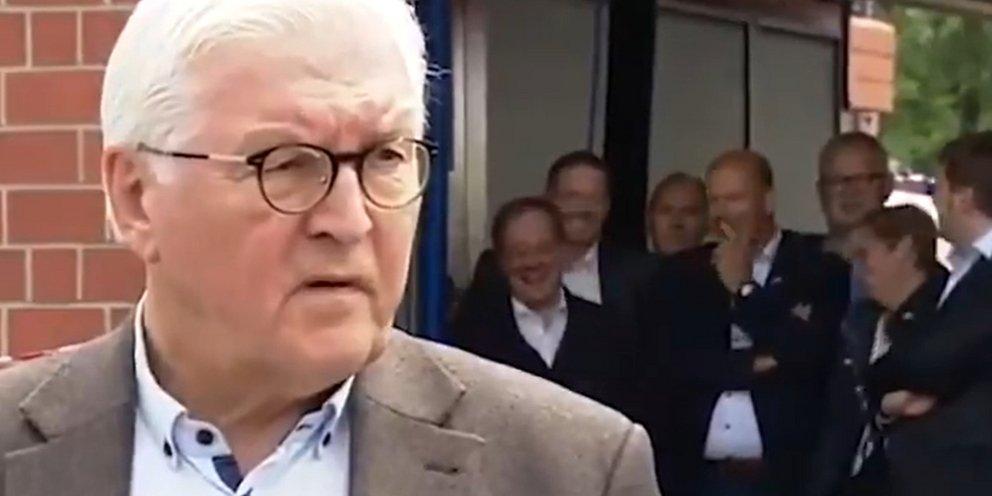 Σάλος στη Γερμανία: Ο Αρμιν Λάσετ γελά ενώ ο πρόεδρος Σταϊνμάγιερ εκφράζει τη θλίψη του για τα θύματα της «βιβλικής» καταστροφής [βίντεο]   ΚΟΣΜΟΣ